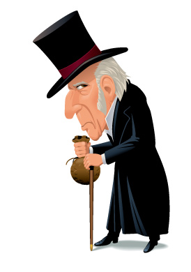 Is it common sense to be a Scrooge?